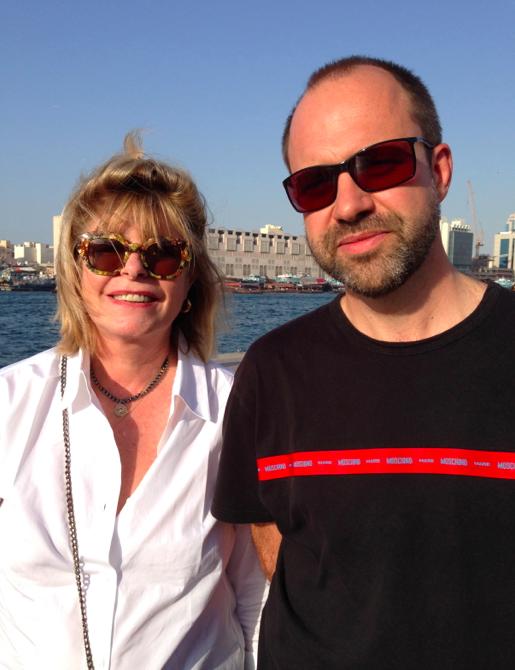 Visite de Dubai avec Katherine Pancol